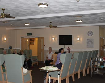 The training room at Thomas Gabrielle Nursing Home, Cwmbran