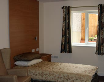 The training room at Thomas Gabrielle EMI Residential Home, Cwmbran